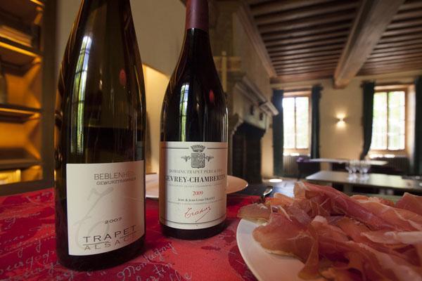 Table et vins