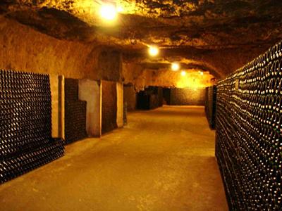 Amboise wine cave - Part of private escorted Loire Valley, Cognac, bordeaux wine tour GW4