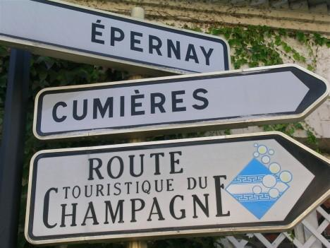 Scenic Route des champagnes