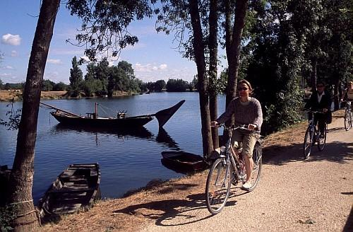 Bikers - Part of Loire Valley cycling tour B8
