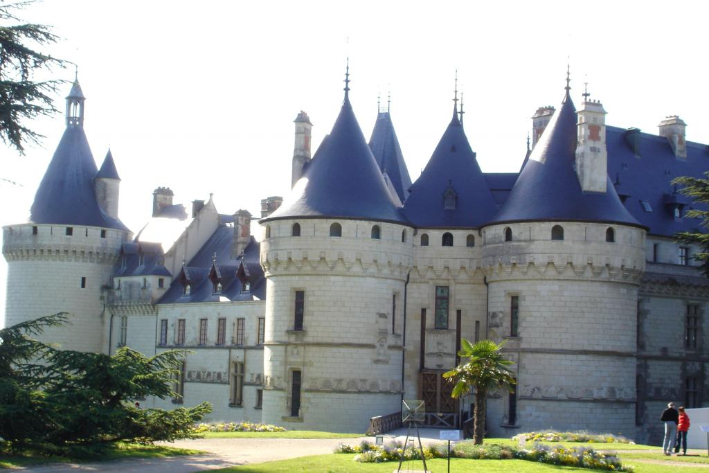 Chateau of Chaumont - Part of Loire Valley cycling tour B2