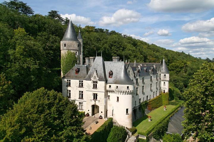 Chateau of Chissay - Part of Loire Valley cycling tour B6