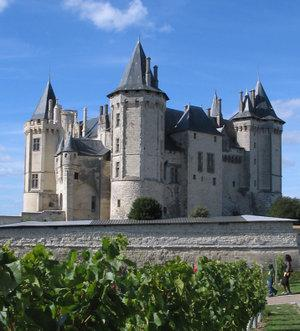 Chateau of Saumur - Part of Loire Valley cycling tour B8