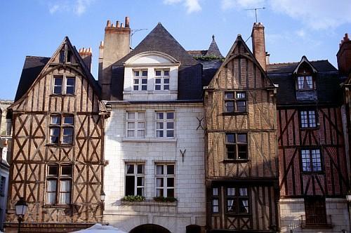Tours city - Part of Loire Valley cycling tour B8