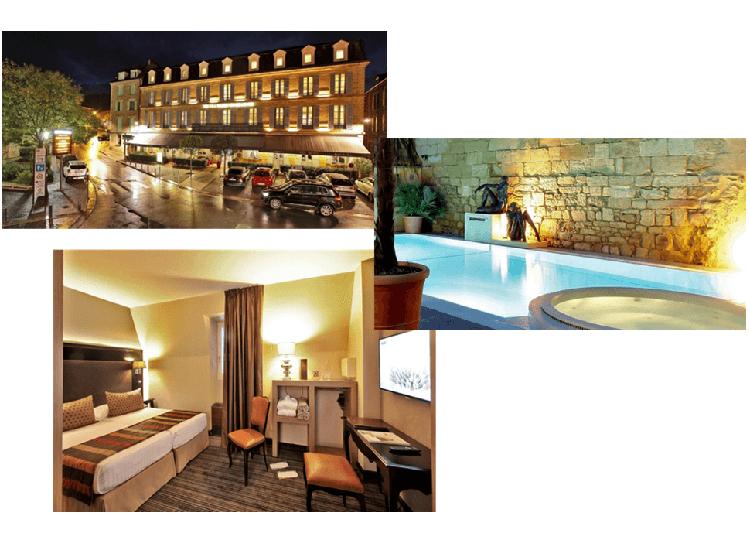 Hotel Plaza Madeleine, Sarlat