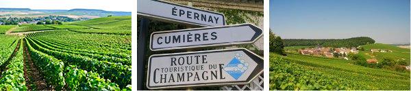 Scenic route du champagne
