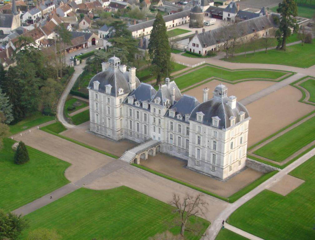 Chateau, castle, loire valley, Cheverny