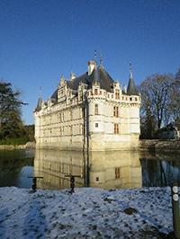 azay, château, chateau, castle, loire valley
