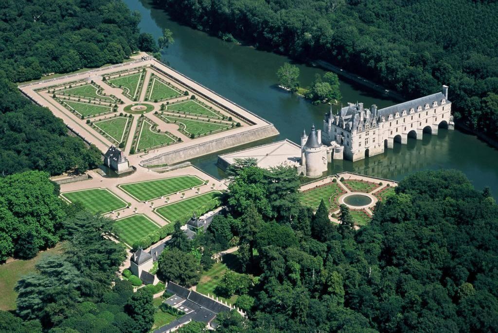 Chateau, château, castle, Chenonceau, Loire Valley