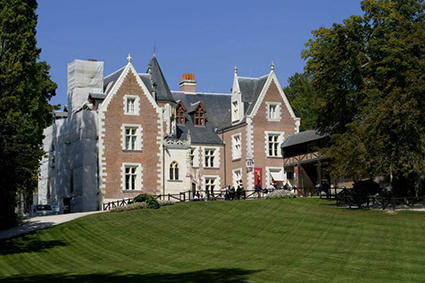 Chateau, château, castle, Clos Lucé, Loire Valley