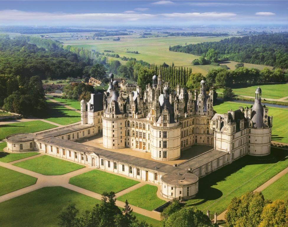 Chateau, château, castle, Chambord, Loire Valley