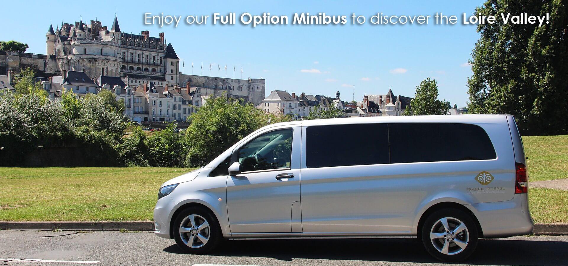 minibus, loire valley