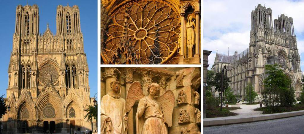 Guided tour of Reims Cathedral - Private luxury Champagne tour