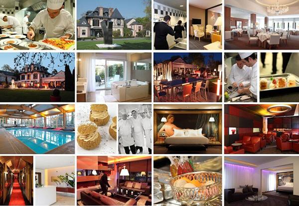 food, restaurant, hotel, champagne