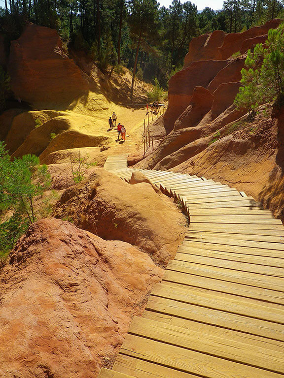 Provence private tour around Luberon - Roussillon Ochre Trail