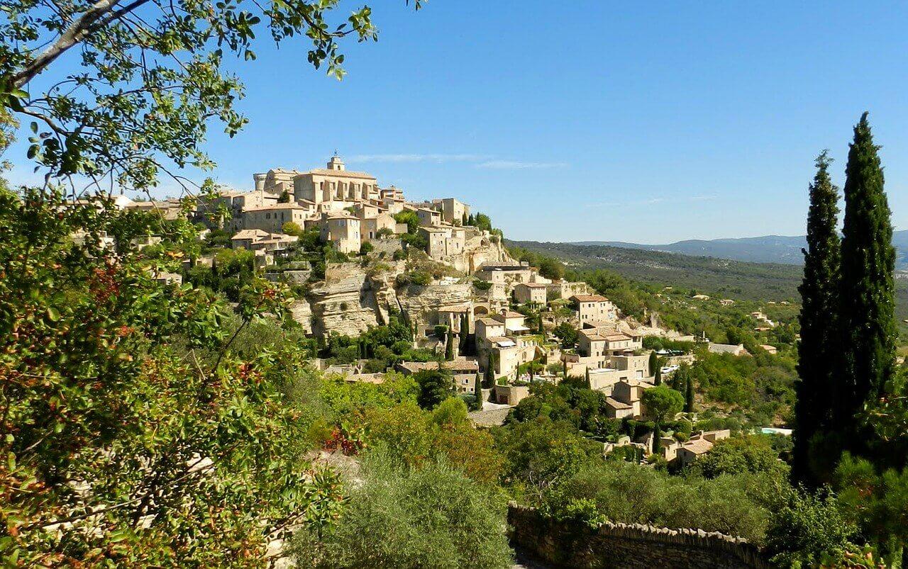 gordes, provence, château, castle, chateau