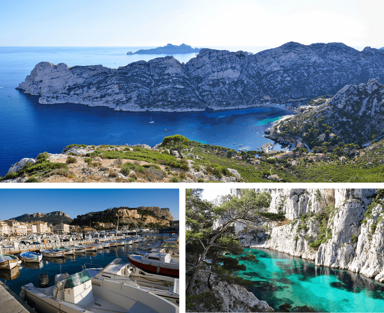 Calanques de Cassis, provence, sea, ocean, port