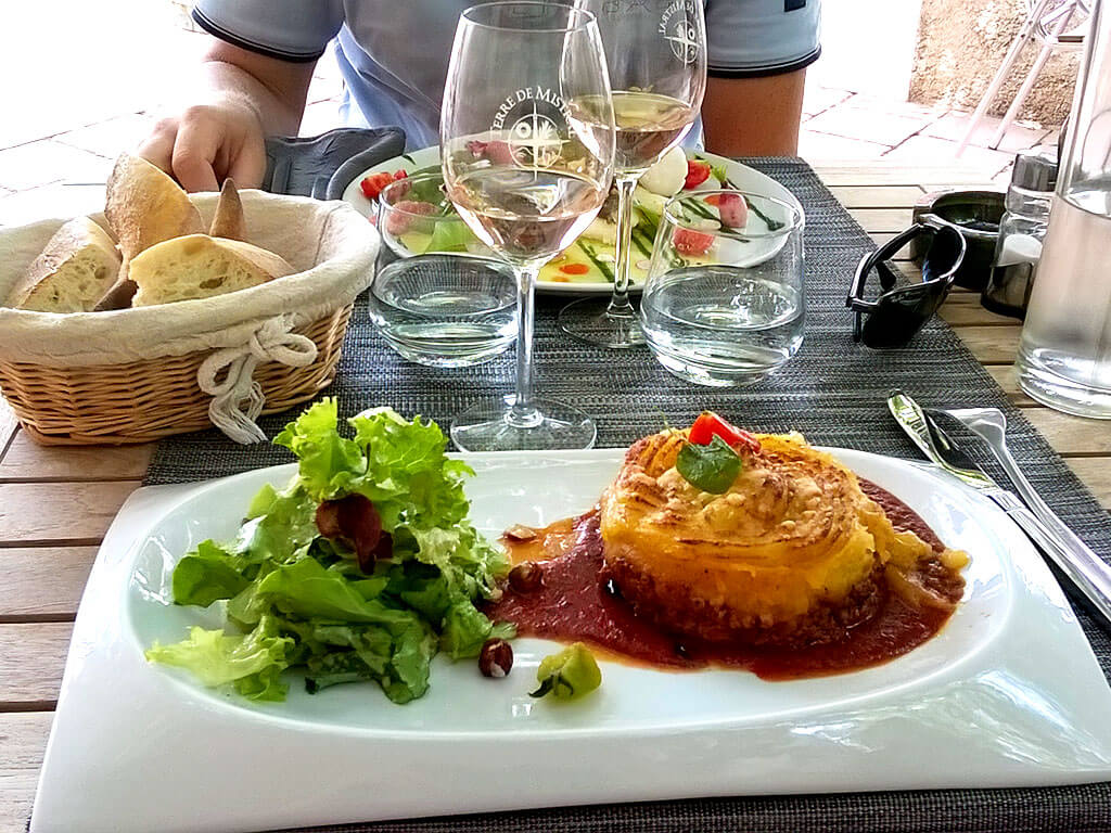 lunch, food, restaurant, provence