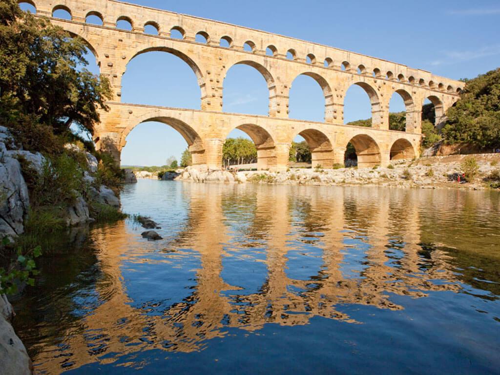 pont du gard, provence, bridge