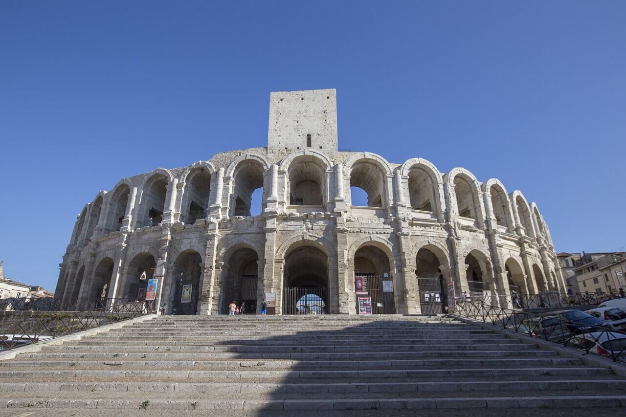 old roman city of Arles