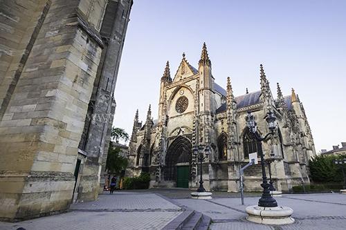 Bordeaux, church