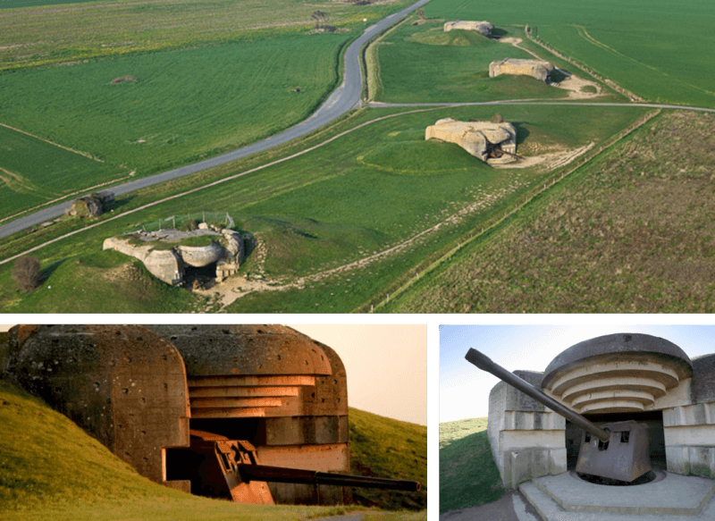 Longues-sur-mer, war, bunker, normandie