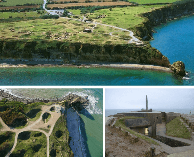 Pointe du Hoc, ocean, sea, normandie