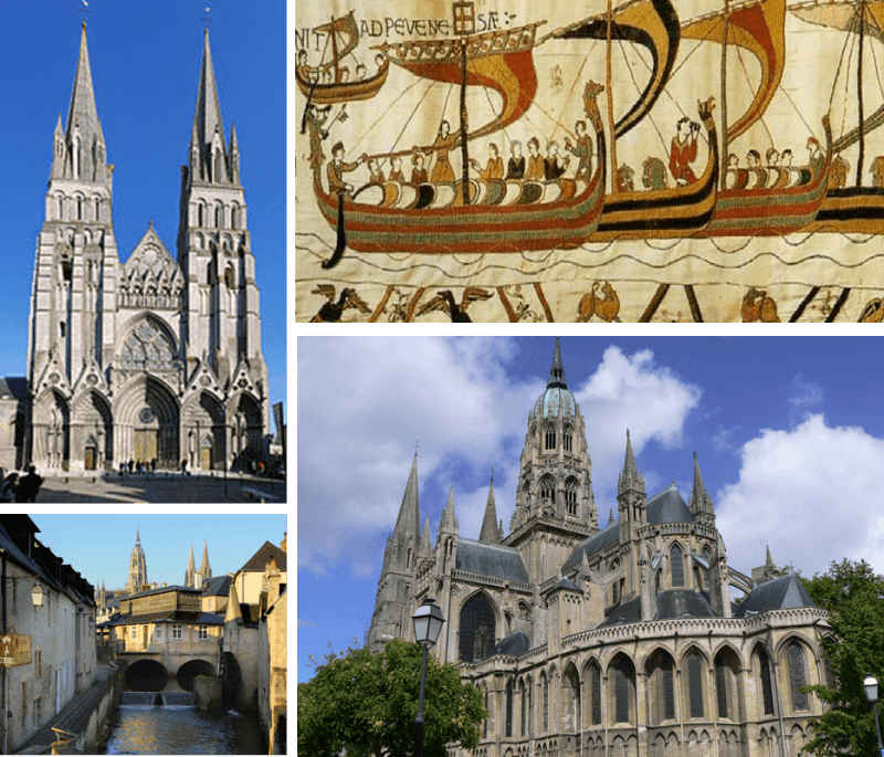 Tapestry of Bayeux, normandie