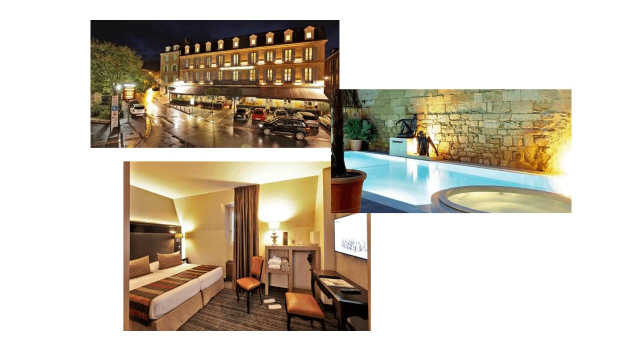 Hotel Plaza Madeleine, Sarlat, dordogne