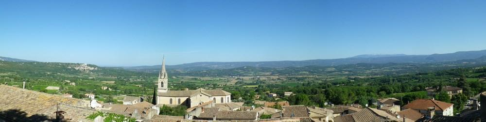 Provence private tour around Luberon - Luberon lanscapes
