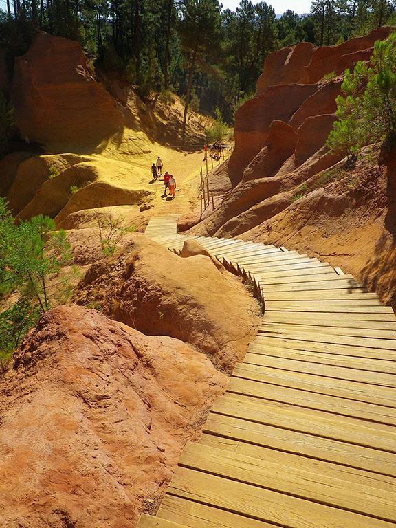 Provence private tour around Luberon - Roussillon Ochre Trail