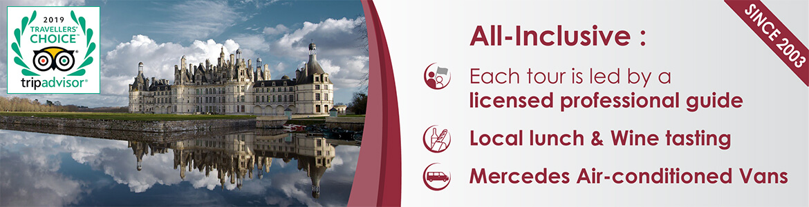 Loire Valley all-inclusive tours